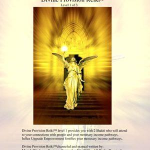 Divine Provision Reiki™ – Level 1 of 3
