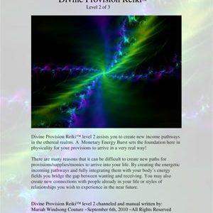 Divine Provision Reiki™ – Level 2 of 3