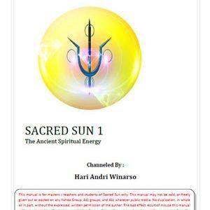 Sacred Sun 1  – part 1